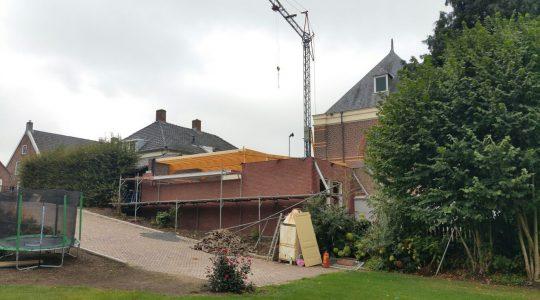 Verbouwing van de Rank    september 2016